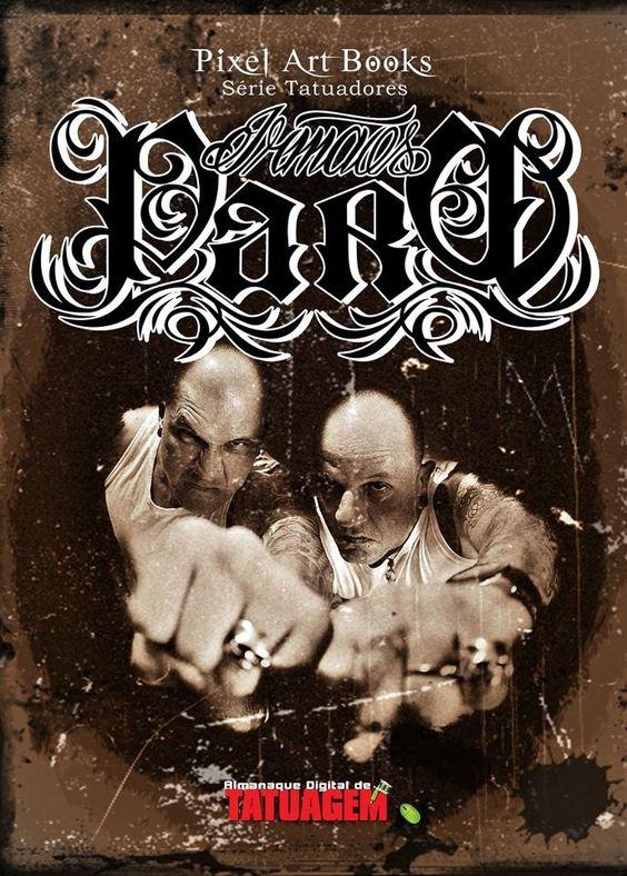 Brothers Paro#book#RafaelCassaro#MigFoto#MarceloParo#MarcelParo#TattooAge Clínic