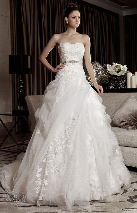 wedding dresses intuzuri alana ball gown bridal