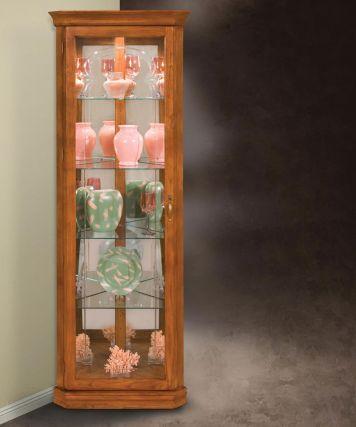 Tempo Ii Corner Curio Cabinet Curio Cabinet Corner Curio Cabinet