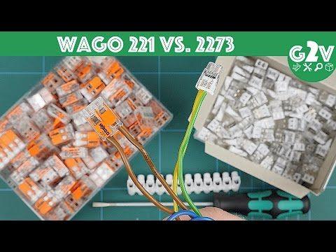 Wago Serie 221 Vs 2273 Welche Klemme Ist Fur Wen Die Richtige Vergleich Review Youtube Serien Richtiger