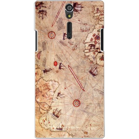 Sony Xperia S için Ozi Piri Reis Harita kapak