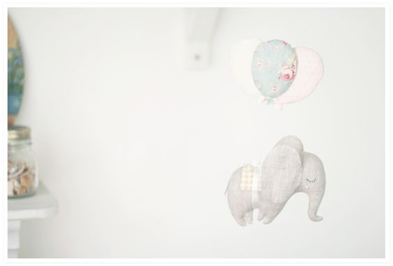 """""""fly away elephant""""    with lavender,    height 21 cm"""
