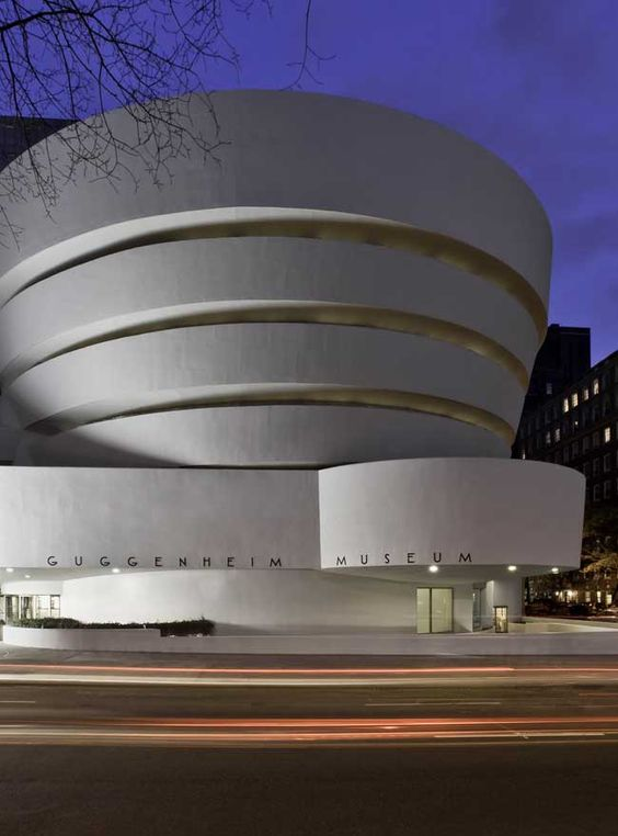 Frank Lloyd Wright. Solomon R. Guggenheim Museum, New York, New York. 1959: