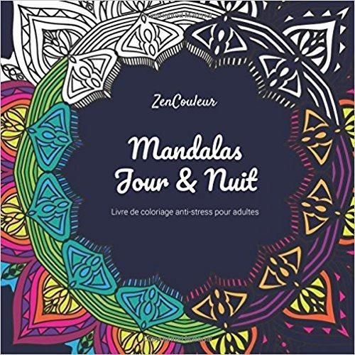 Telecharger Livre De Coloriage Anti Stress Pour Adultes Mandalas Jour Et Nuit Gratuit Movie Posters Poster