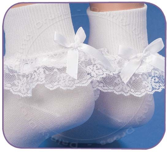 lace socks..wore them everyday as a child (: