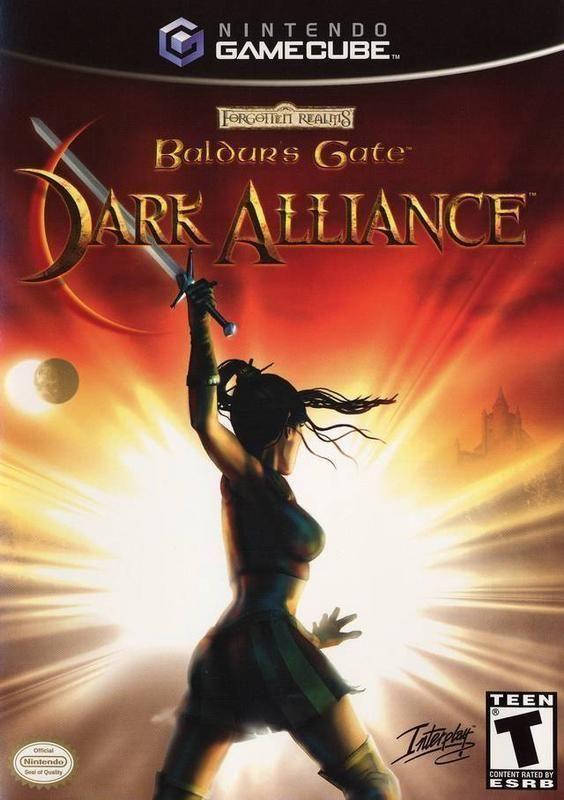 Baldurs Gate Dark Alliance Gamecube Juegos Retro Videojuegos