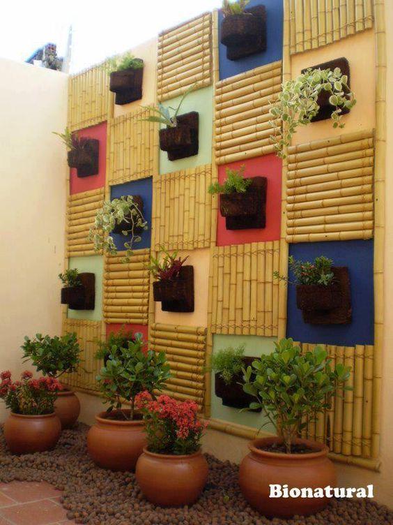 Jardines verticales articuls en madera pinterest for Jardines verticales pequenos