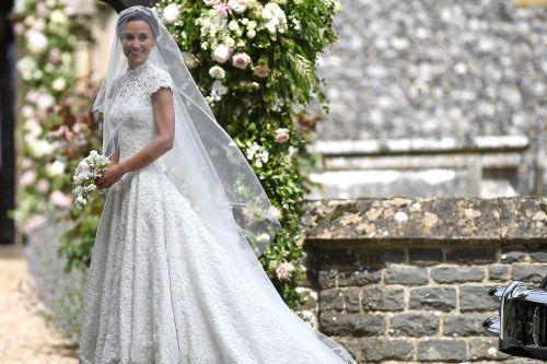 Kate Middleton Serves As Unofficial Bridesmaid At Pippa