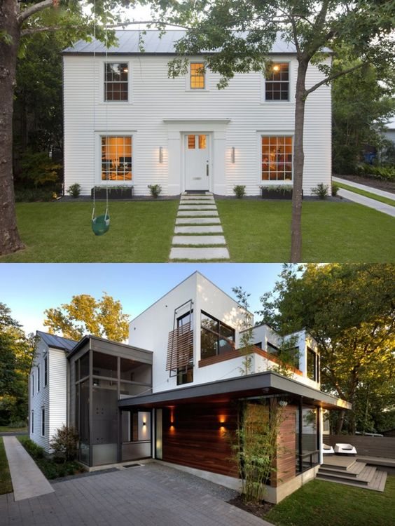 Cute house house and mullets on pinterest for Classical home designs