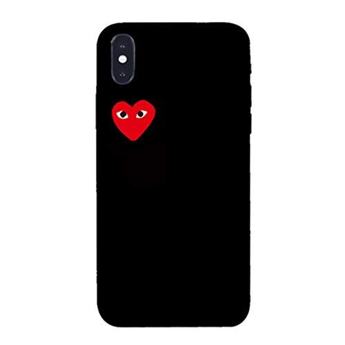 Fashion CDG Play Loving Eyes Soft Case iPhone XS iphone XR/XS Max ...