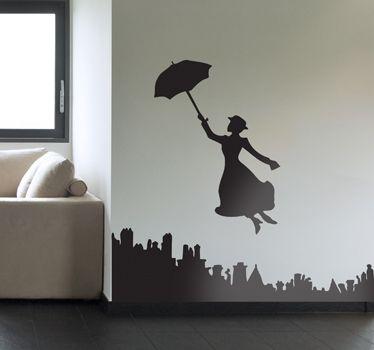 Vinilo decorativo Mary Poppins