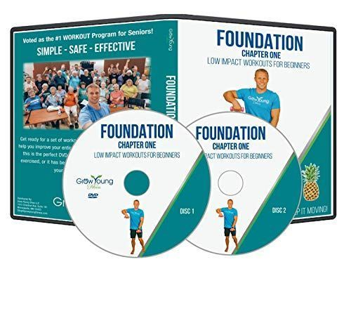 Grow Young Fitness Chair Exercises For Seniors Two Disc Foundation Dvd Simple Safe Effective Back To Basics Wo In 2020 Senior Fitness Workout Dvd Healthy Life Quotes