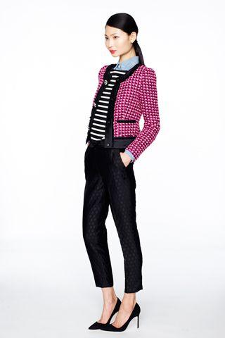 New York Fashion Week, Fall 2012: J. Crew (minus the blue shirt)