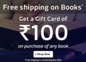 Books at Upto 60% off +Rs.100 Gift Voucher Offer : Get Up to 60% Off on Flipkart - Best Online Offer