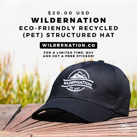 Wildernation Eco Friendly Recycled Pet Structured Hat Wildernation Recycling Pet Plastic Bottles Pets