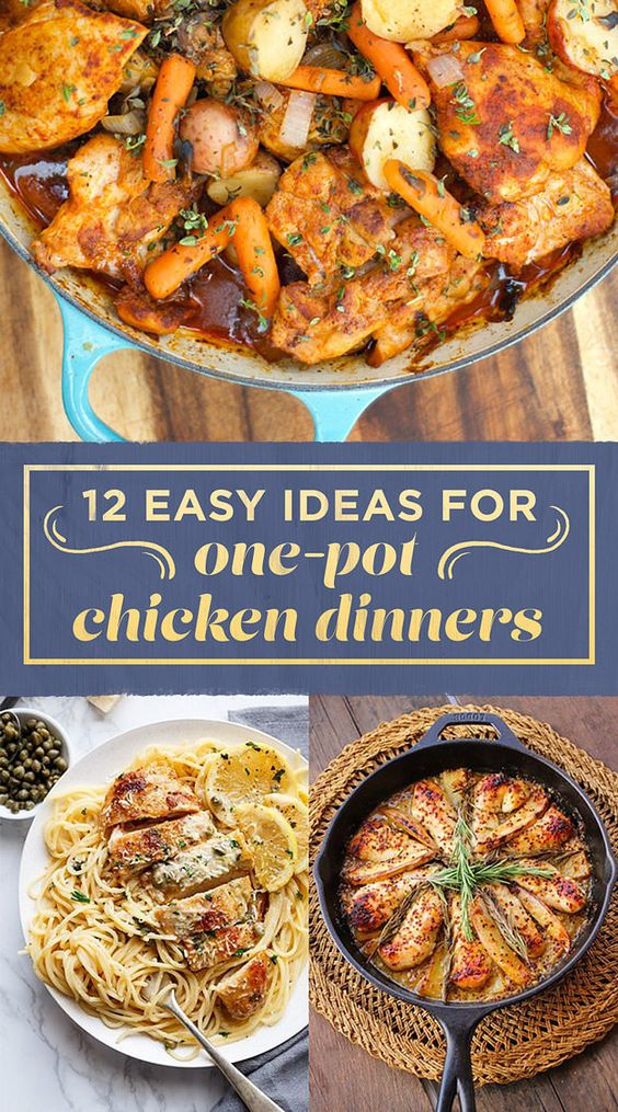 12 One-Pot Chicken Dinners You Should Definitely Bookmark