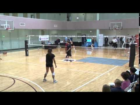 A Great Serving and Receiving Drill from John Dunning! - Volleyball 2015...
