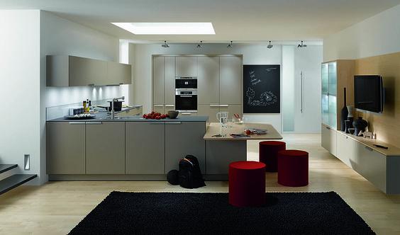 Apertura y amplitud de espacios: la cocina para cualquier situación.