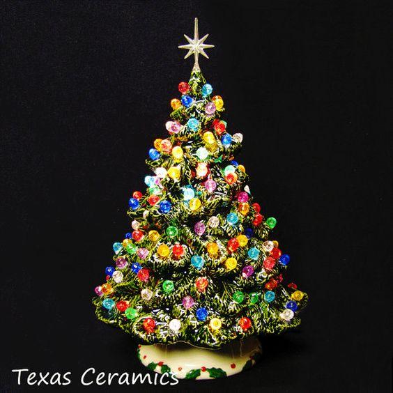 lovely 24 musical ceramic christmas tree iridescent white w gilding rudolph ebay christmas pinterest ceramic christmas trees iridescent and