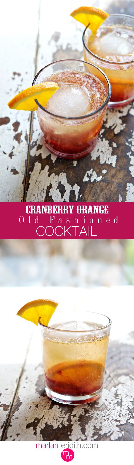 ... old fashioned cocktail old fashioned recipes cranberries orange recipe