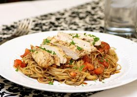 TGI Friday's Restaurant Copycat Recipes: Bruschetta Chicken Pasta