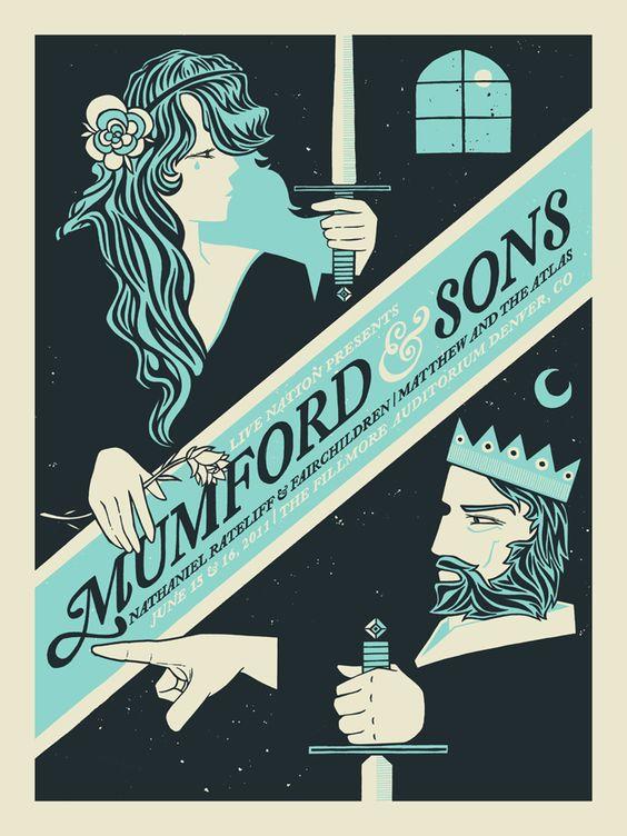 Mumford & Sons   The Fillmore Auditorium  June 15 & 16, 2011