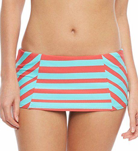 Coco Rave We Love Stripes Princess Seam Skirted Swim Bottom (R13355) XL/Coral COCO RAVE http://www.amazon.com/dp/B00U13LEU6/ref=cm_sw_r_pi_dp_6ylHwb186V6K3