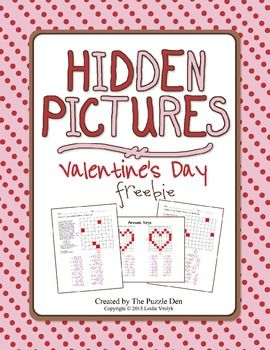 here 39 s a set of 4 different hidden picture puzzles with a valentine 39 s theme students practice. Black Bedroom Furniture Sets. Home Design Ideas