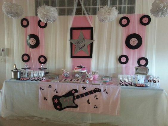 Dise o y decoraci n de eventos sevilla cumplea os rock for Decoracion cumpleanos nina 2 anos