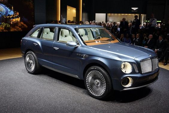 The 2016 Bentley SUV