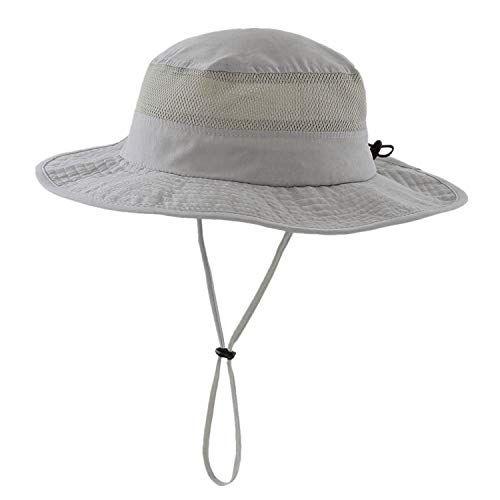 Home Prefer Men S Sun Hat Upf 50 Wide Brim Bucket Hat Windproof Fishing Hats Medium Gray All4hiking Com Mens Sun Hats Sun Hats Fishing Hat