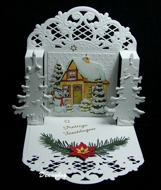 newyears christmas christmas pop up cards cards christmas christmas ...