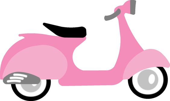 Pazzle Craft Room: Free WPC, SVG Files From Pazzles. Pink Scooter Cutting