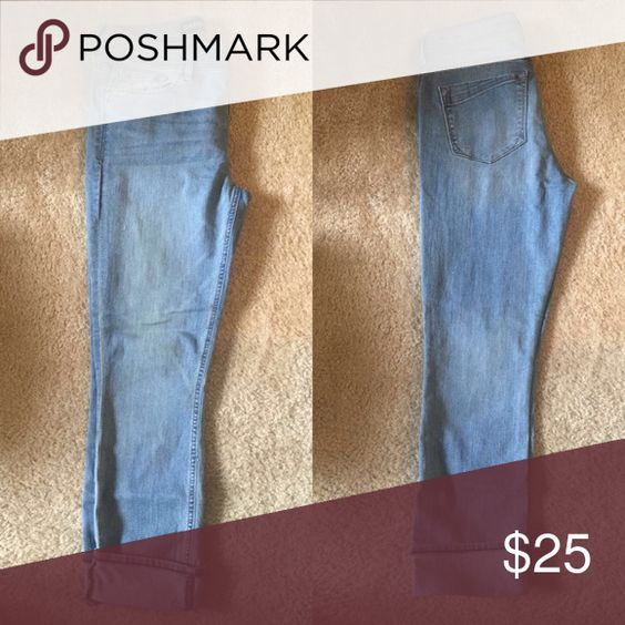 Express Cropped Jeans Fits beautifully! Mid-Rise Fit Express Jeans Ankle & Cropped