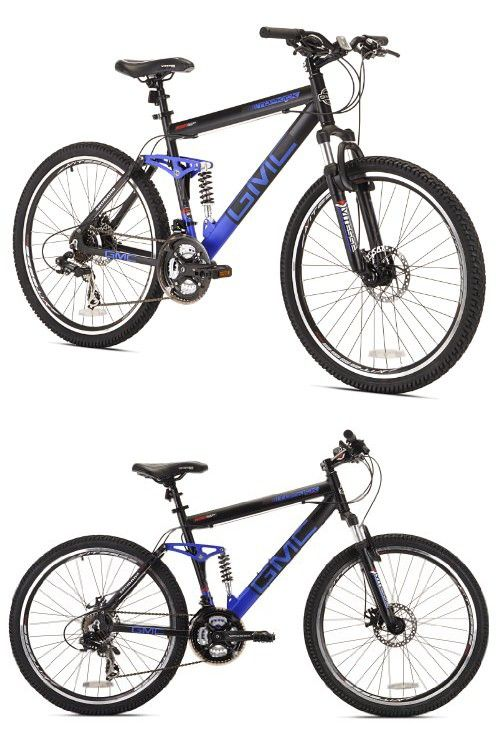 Gmc Topkick Dual Suspension Mountain Bike 26 Inch With Images