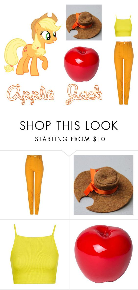 """Apple Jack"" by marthabr on Polyvore featuring Sretsis, Topshop and Bitossi"