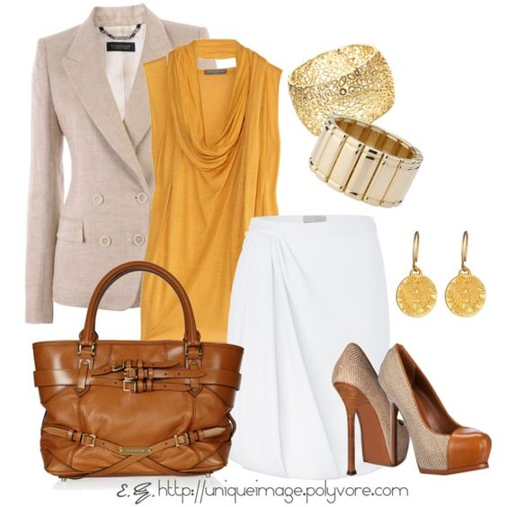 Linen Pumps & Blazer.  Wish I was cool enough to wear this kind of stuff.