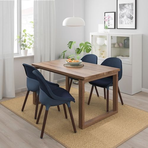 45+ Oak veneer dining table and 6 chairs Best Choice