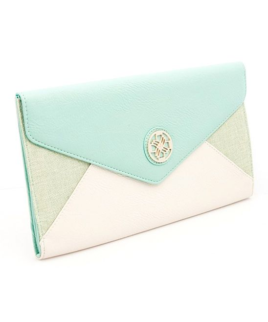 Mint & Lime Envelope Clutch | CLUTCH | Pinterest | Follow me ...
