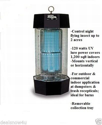 Awesome Diplomat Outdoor Indoor Fly Mosquito Insect Control Bug Zapper Killer Patio