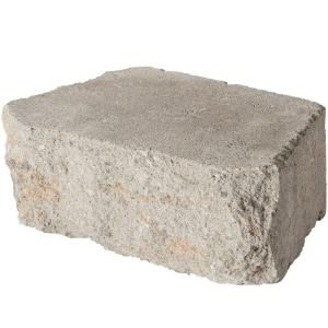 Pavestone 12 in. Fieldstone Concrete Wall Block-81185 at The Home Depot