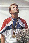 Sébastien Flute - 3 août 1992 - Champion olympique à Barcelone    Sebastien Flute of France - 1992 Olympic medalist