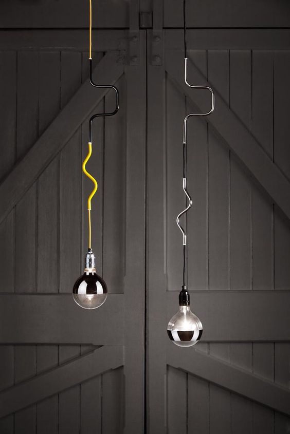 Volker Haug - Cable Jewellery pendant lights