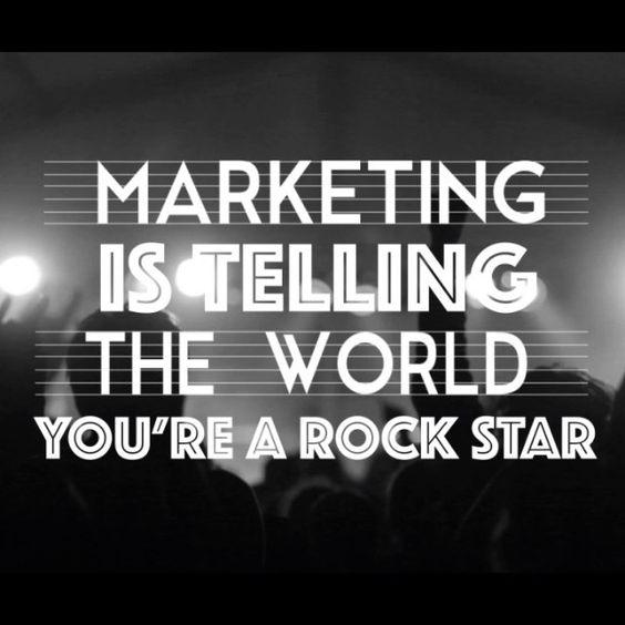 #Marketing #Rockstar #WiseWordsWednesday #contentmarketing