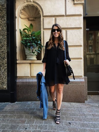 My go-to date night look on sequinsandstripes.com or get links to each items emailed to you when you sign up for @liketoknow.it and 'like' my photos! http://liketk.it/2piP7 #liketkit #allblack #mystyle • photo by @heathertalbert