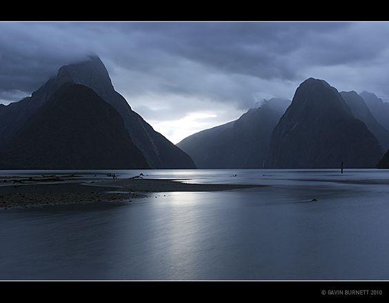 milford sound, fiordland, new zealand by gavin.burnett, via Flickr