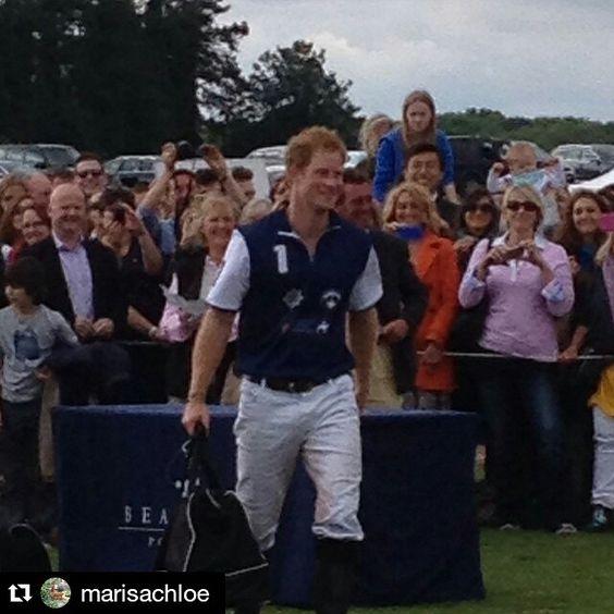 """#Repost @marisachloe ・・・ #polo #beaufortpolo #PrinceHarry"" Photo taken by @princeharrynews on Instagram, pinned via the InstaPin iOS App! http://www.instapinapp.com (06/14/2015)"