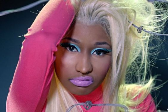 Nicki Minaj. y'all might think she's crazy, she's not; i think she expresses herself in music.