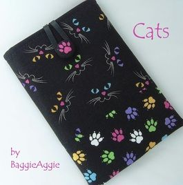 CATS - A quirky eReader case for Kindle, Nook and Kobo.  Also available for 7 inch tablets.