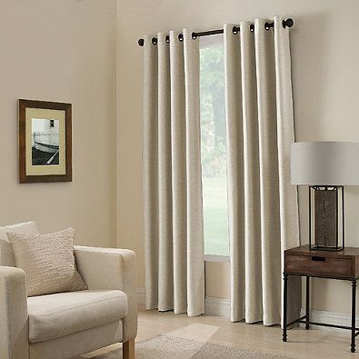 Paradise 84-Inch Room Darkening Window Curtain Panel in Stone ...